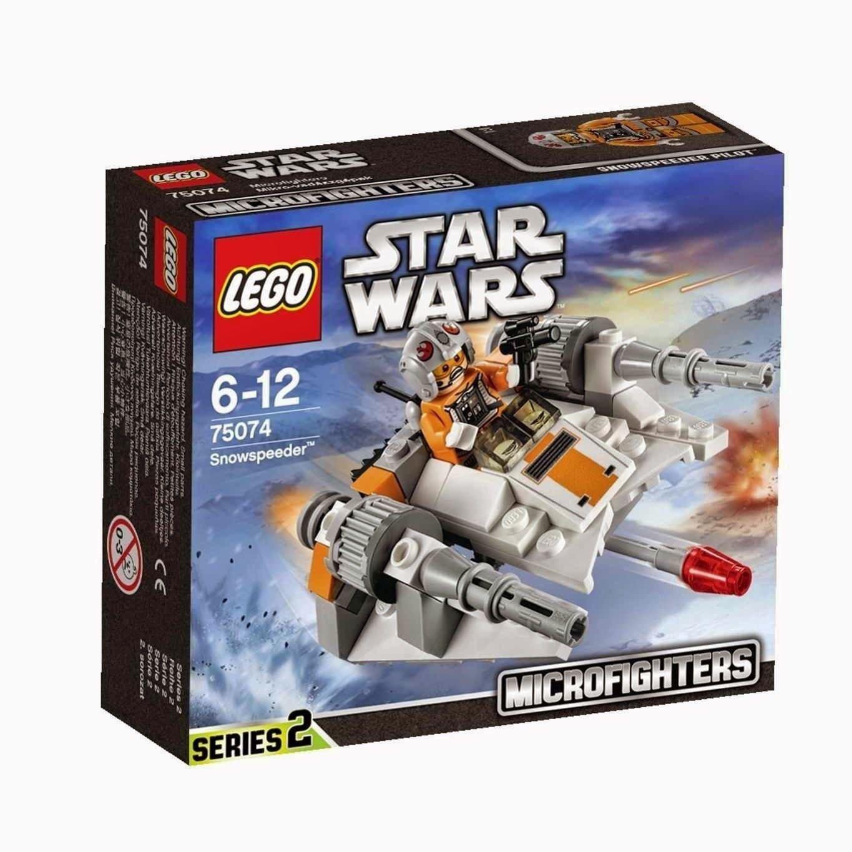75074 Lego Star Wars Snowspeeder Microfighters