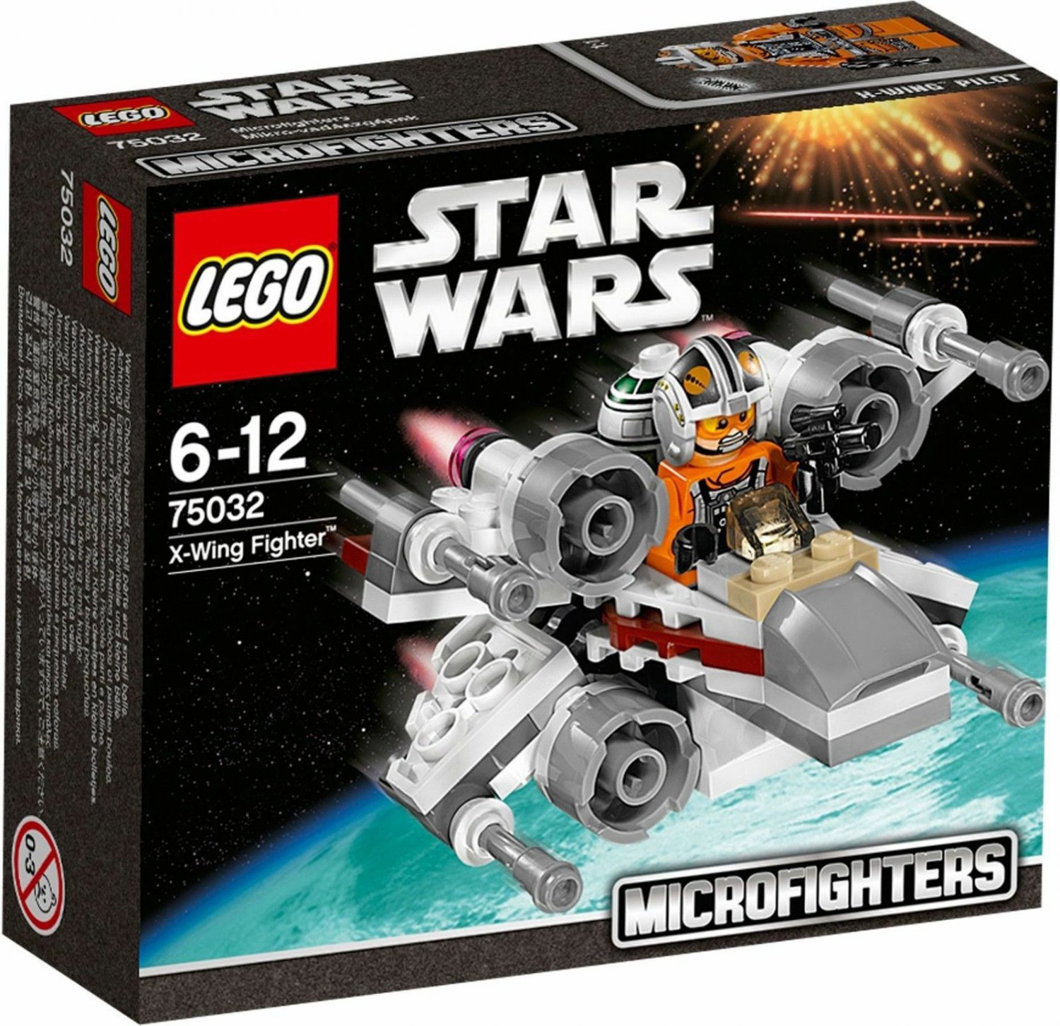 75032 Lego Star Wars X-Wing Fighter Microfighters