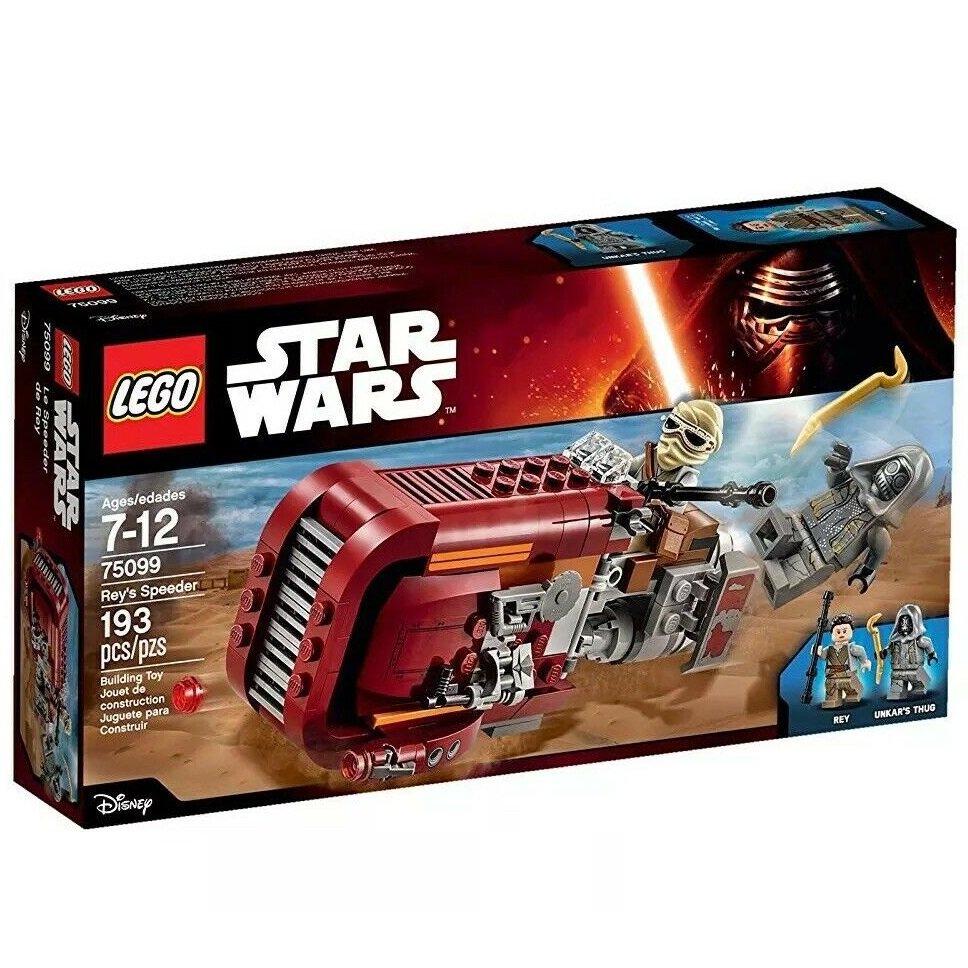 75099 Lego Star Wars Rey's Speeder