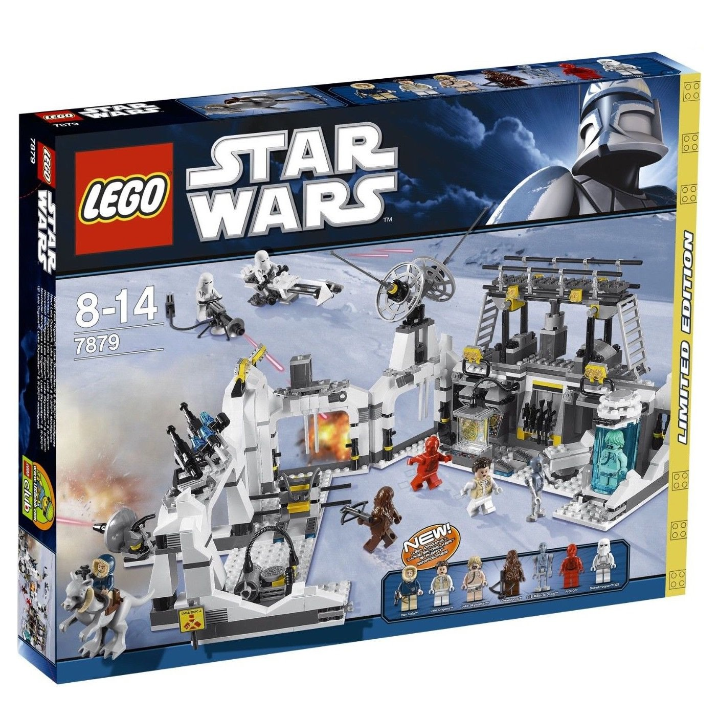 7879 Lego Star Wars Hoth Echo Base