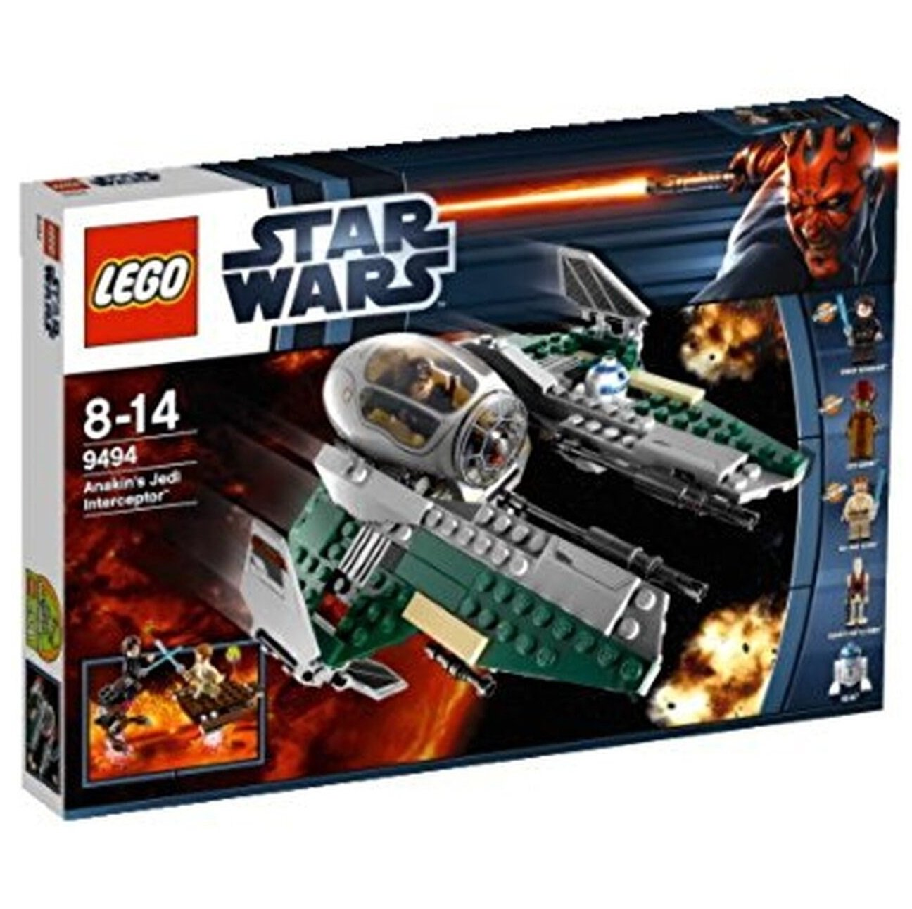 9494 Lego Star Wars Anakin's Jedi Interceptor