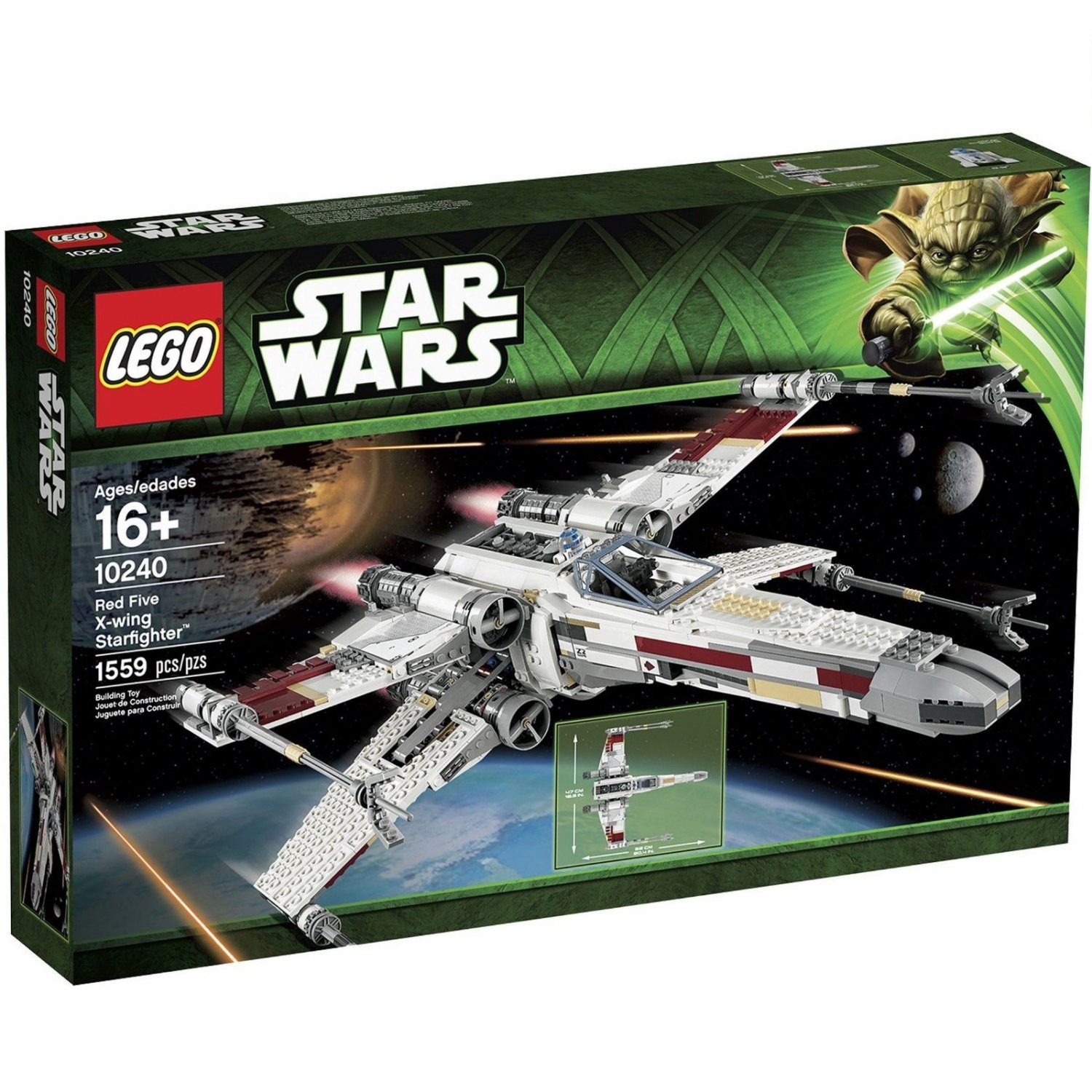 10240 Lego Star Wars Red Five X-wing Starfighter
