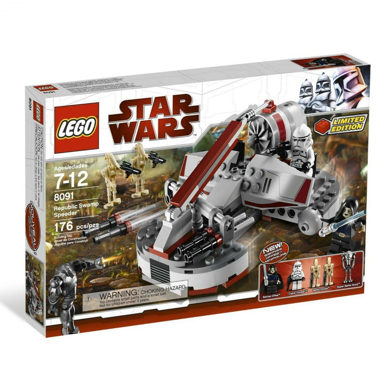 8091 Lego Star Wars Republic Swamp Speeder