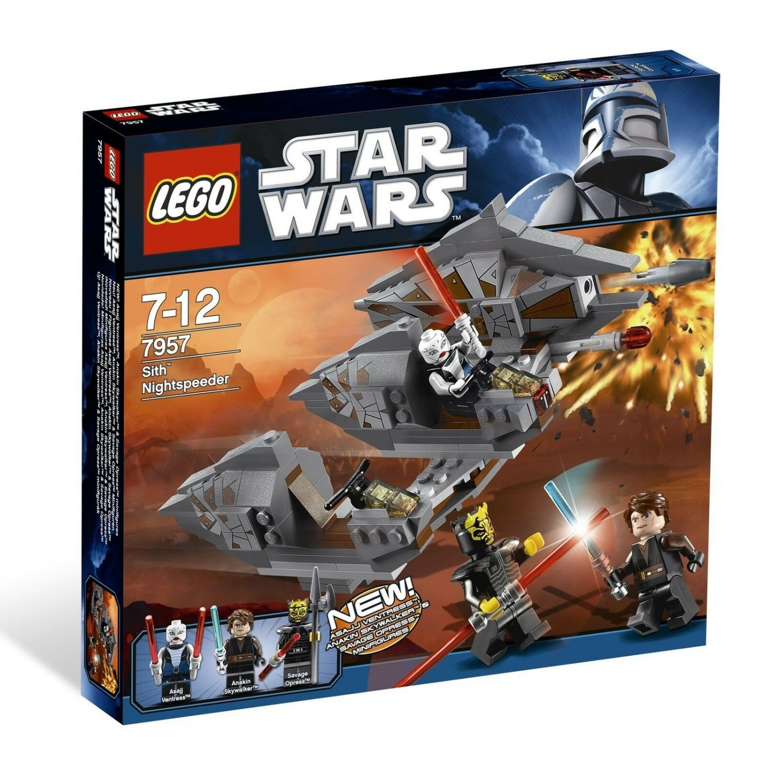 7957 Lego Star Wars Sith Nightspeeder