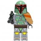 Minifigure Boba Fett Star Wars Compatible Lego Building Block Toys