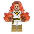 Phoenix X-Men KOPF Minifigure Marvel Super Heroes Compatible Lego Building Blocks