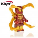 Armored Spider-Man Far From Home KOPF Minifigure Marvel Super Heroes Compatible Lego Building Blocks