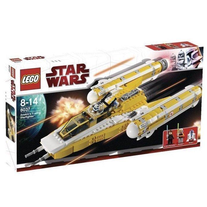 8037 Lego Star Wars Anakin's Y-Wing Starfighter