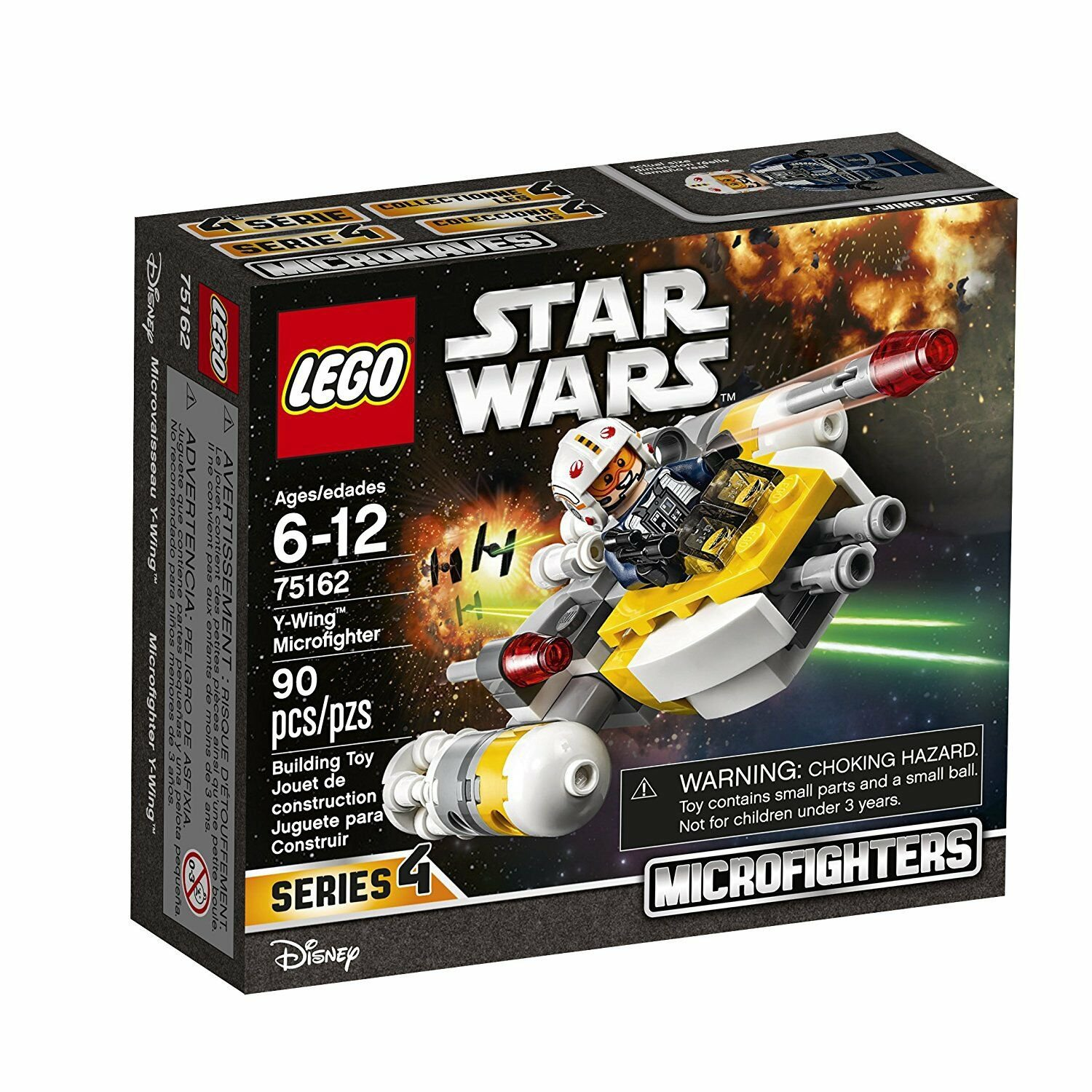75162 Lego Star Wars Y-Wing Microfighters