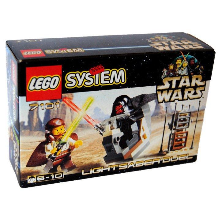 7101 Lego Star Wars Lightsaber Duel