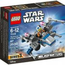 75125 Lego Star Wars Resistance X-Wing Fighter Microfighters