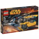 7256 Lego Star Wars Jedi Starfighter & Vulture Droid