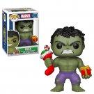 Hulk with Stocking and Gift Holiday/Christmas Marvel №398 GENUINE Funko POP! Figure Vinyl PVC Toy