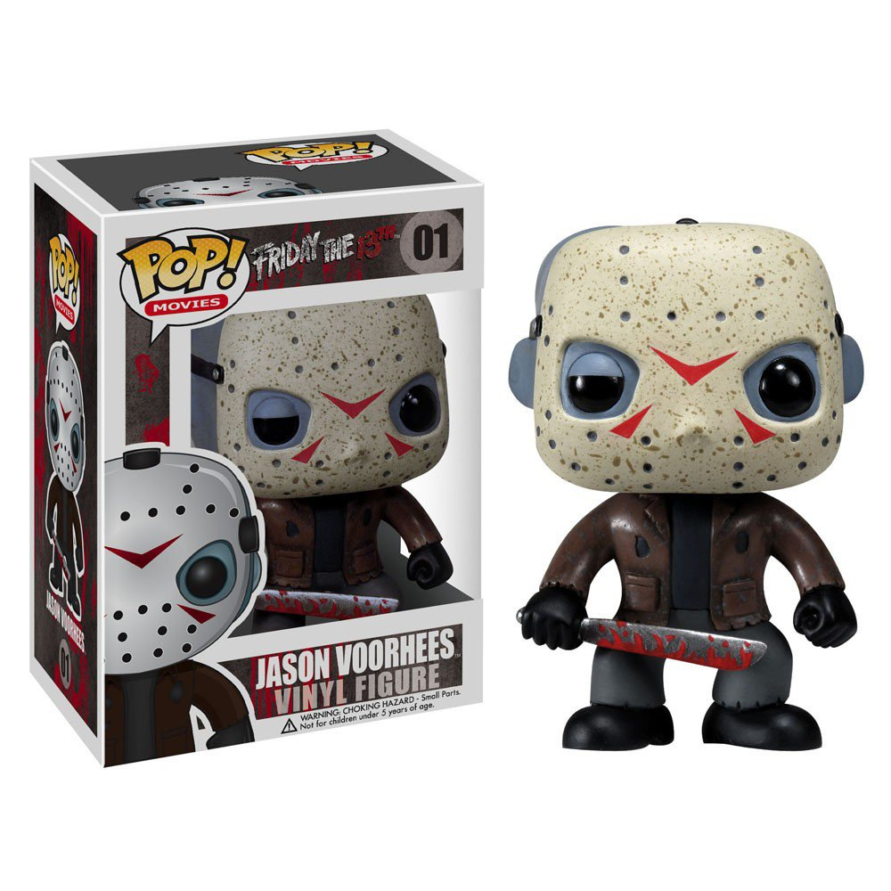 Jason Voorhees Friday the 13th Horror Movie �01 GENUINE Funko POP! Figure Vinyl PVC Toy