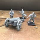 4pcs Empire Great Cannon Warhammer Resin Models 1/32 scale Action Figures