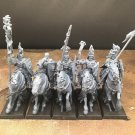 5pcs Empire Grail Knights Warhammer Resin Models 1/32 scale Action Figures