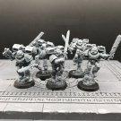 5pcs Vanguard Veteran Space Marines Warhammer Resin Models 1/32 scale Action Figures