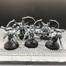 5pcs Possessed Chaos Space Marines Warhammer Resin Models 1/32 scale Action Figures Toys Hobby
