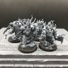 4pcs Lord Felthius & Tainted Cohort Sons Warband Warhammer Resin Models 1/32 scale