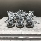 10pcs Chaos Space Marines Warhammer Resin Models 1/32 scale Action Figure Toys Hobby Games