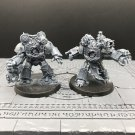 2pcs Obliterators Chaos Space Marines Warhammer Resin Models 1/32 scale Action Figure Toys Games