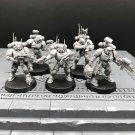 5pcs Primaris Infiltrators Space Marines Ultramarines Warhammer Resin Models 1/32 scale Figures