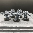 5pcs Chosen Chaos Space Marines Warhammer Resin Models 1/32 scale Action Figures Toys Hobby Games