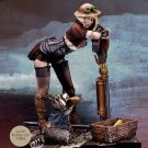 Audrey D. & Rumblepop Steam Wars Steampunk Resin Models 1/24 scale 75 mm Action Figure