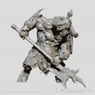 Minotaur with Axe Warrior Fantasy Resin Models 1/24 scale 75 mm Hobby Action Figure