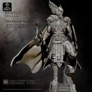 Viking Warrior with Axe Resin Models 1/24 scale 75 mm Hobby Action Figure