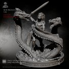 Hercules Fight with Hydra Ancient Mythology Greece Resin Models 1/24 scale 75 mm Hobby Action Figure