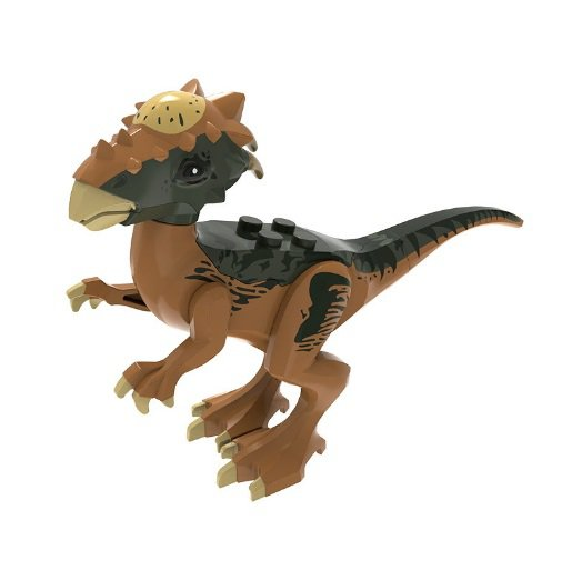 Minifigure Brown-Black Stygimoloch Dinosaur Jurassic World