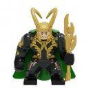 Big Minifigure Loki Avengers Marvel Super Heroes