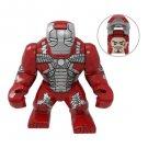 Big Minifigure Iron Man Mark 5 MK5 Avengers Marvel Super Heroes
