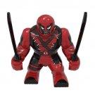 Big Minifigure Venom Deadpool Style Marvel Super Heroes
