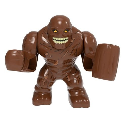 Big Minifigure Clayface DC Comics Super Heroes