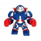 Big Minifigure War Machine Iron Patriot Hulkbuster Avengers Red Suit Marvel Super Heroes
