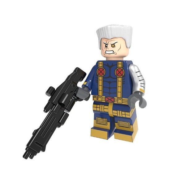 Minifigure Cable from Deadpool X-men Suit Marvel Super Heroes