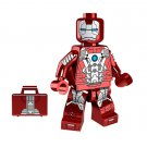 Minifigure Iron Man Mk5 with Suitcase Marvel Super Heroes