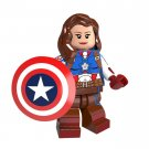 Minifigure Peggy Carter Captain America Marvel Super Heroes