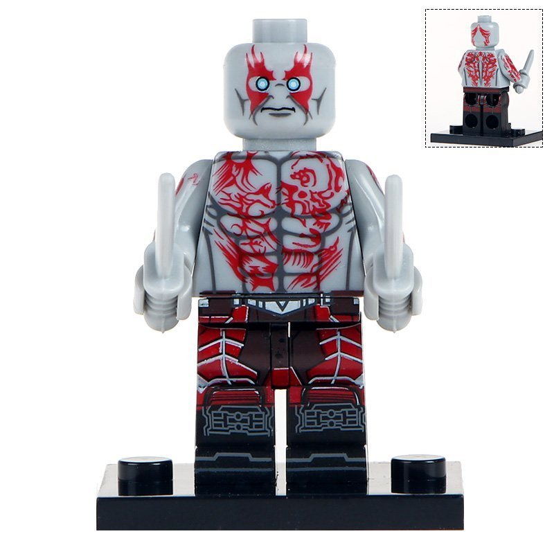 Minifigure Drax Guardians of the Galaxy Marvel Super Heroes