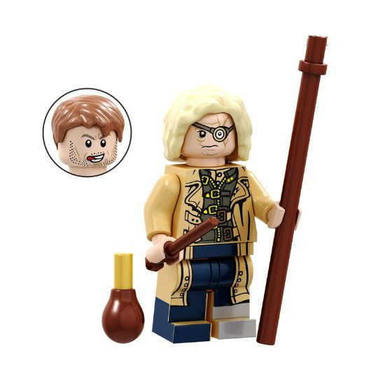 Minifigure Alastor Mad-Eye Moody Harry Potter
