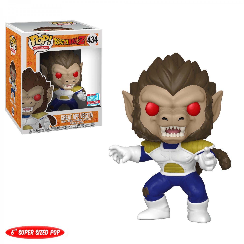 "Great Ape Vegeta 6"" Super Sized Dragon Ball Z �434 Funko POP! Action Figure"
