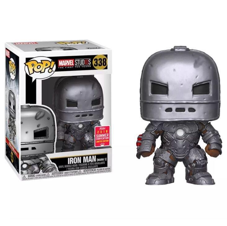 Iron Man (Mark I) Marvel Comics �338 Funko POP! Action Figure Vinyl PVC Minifigure Toy