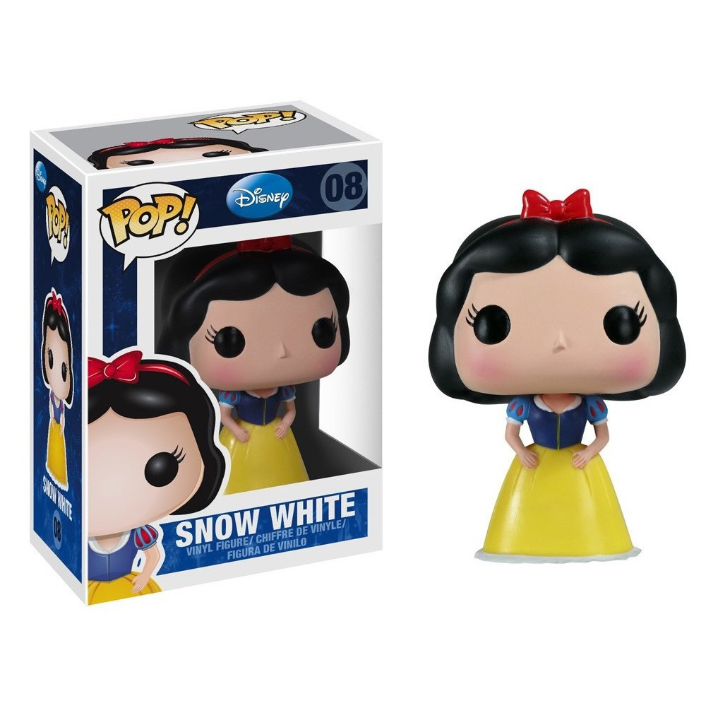 Snow White Disney �08 Funko POP! Action Figure Vinyl PVC Minifigure Toy