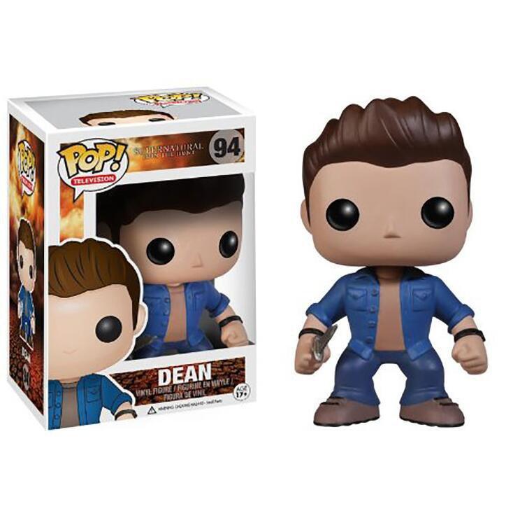 Dean Winchester Supernatural �94 Funko POP! Action Figure Vinyl PVC Minifigure Toy