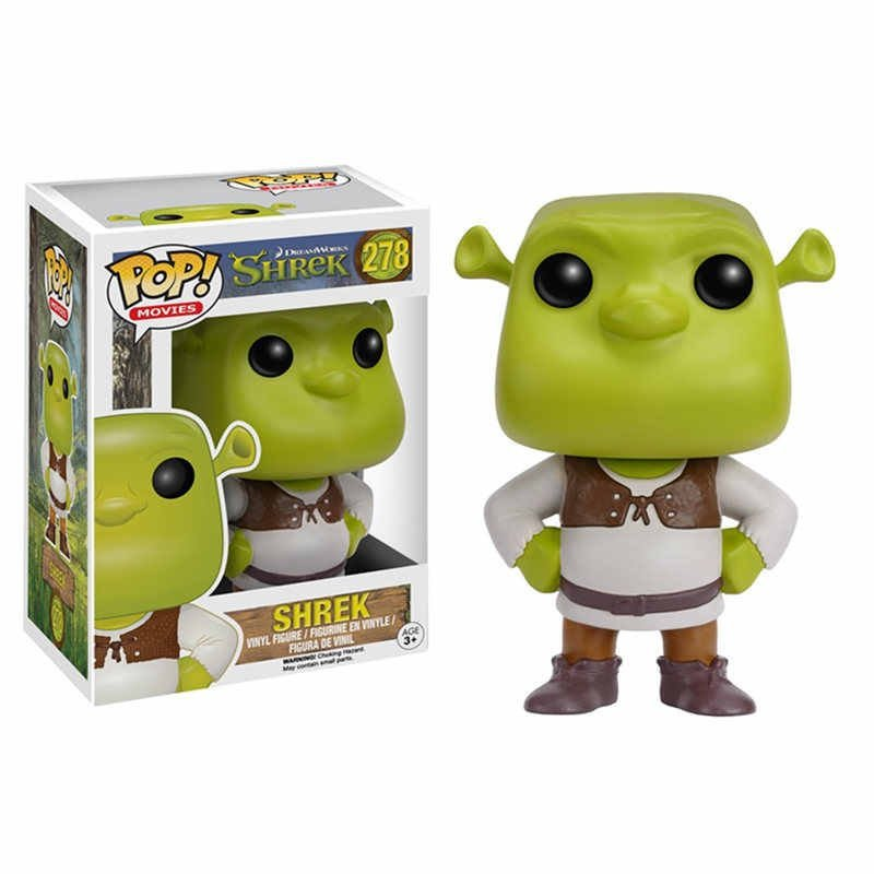 Shrek Dreamworks №278 Funko POP! Action Figure Vinyl PVC Minifigure Toy