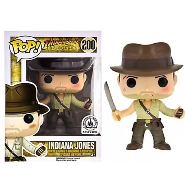 Indiana Jones Adventure �200 Funko POP! Action Figure Vinyl PVC Minifigure Toy