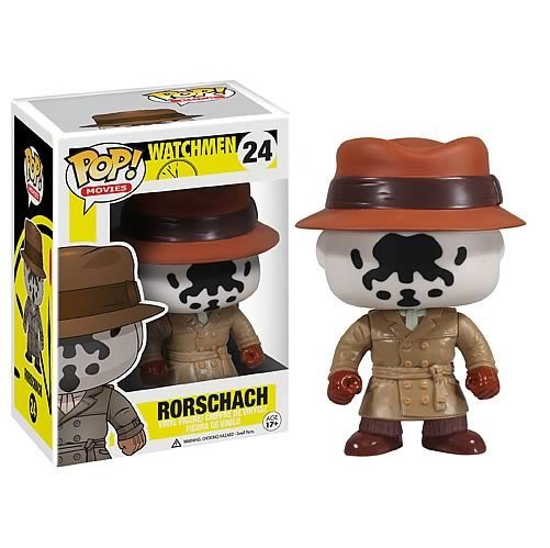 Rorschach Watchmen �24 Funko POP! Action Figure Vinyl PVC Minifigure Toy