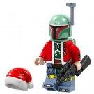 Minifigure Boba Fett Christmas Santa Star Wars